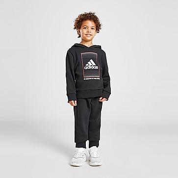 adidas Sport Overhead Graphic Tracksuit Children