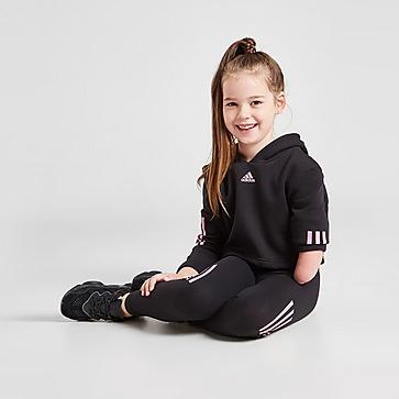 adidas Sport Completo Felpa con cappuccio/Leggings Bambina
