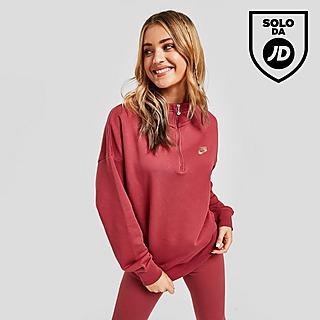 Nike 1/4 Zip Fleece Pullover Donna