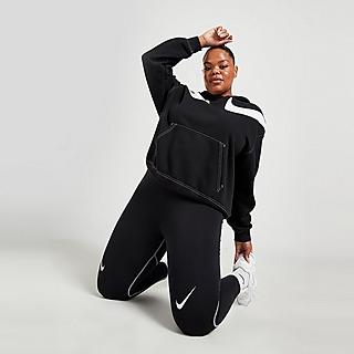Nike Plus Size Swoosh High Waist Leggings Donna