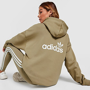 adidas Originals 3-Stripes Linear Felpa con cappuccio Donna