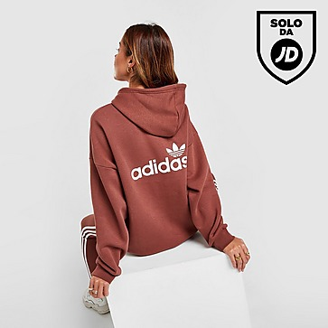 adidas Originals Linear Fleece Felpa con cappuccio Donna