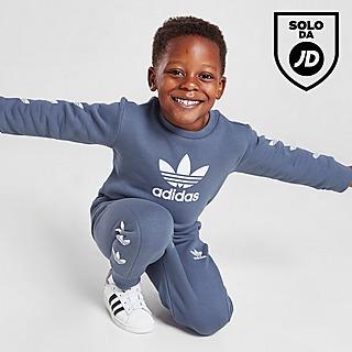 adidas Originals Repeat Trefoil Crew Tuta Neonato