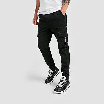 Brave Soul Twill Side Pocket Cargo Pants