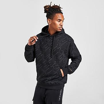 Nike All Over Print Swoosh Felpa con cappuccio