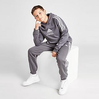 adidas Badge of Sport Fleece Felpa con cappuccio Junior