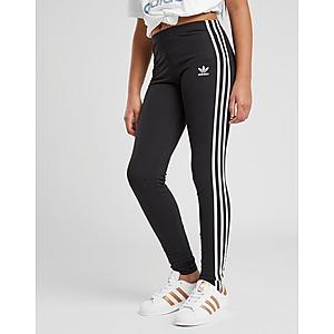 adidas Originals Girls' Big Originals 3 Stripes Leggings