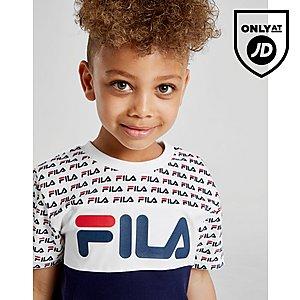 ed11cc046 ... Fila Barrie T-Shirt/Shorts Set Children