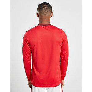 0382d422ff0 ... adidas Manchester United 19 20 Long Sleeve Home Shirt