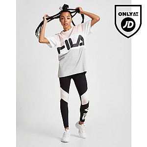 1f3b6e64f86cd Fila Colour Block Boyfriend T-Shirt ...