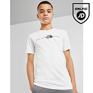 d0301e73c The North Face Central Logo T-Shirt Junior