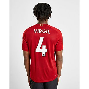 01f533953 New Balance Liverpool FC 2019/20 Virgil #4 Home Shirt ...