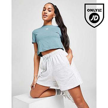 adidas Originals 3-Stripes Essential Boyfriend Shorts Women's