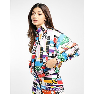 Puma International All Over Print Woven Track Top