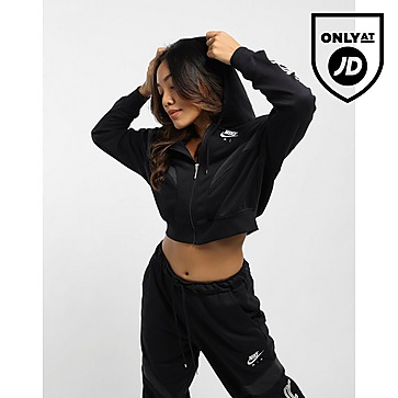 Nike Air Oversized Fleece Full-Zip Hoodie Women's