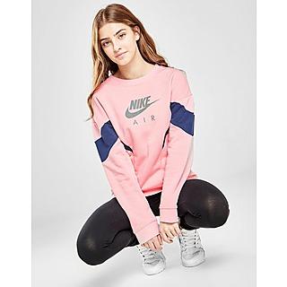 Nike Girls' French Terry Crew Junior