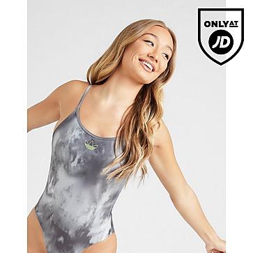 adidas Originals Strappy Tie Dye Swimsuit Women's