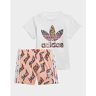 adidas Originals All Over Print T-Shirt Set Infant's