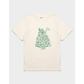 adidas Originals Graphic No-Dye Organic Cotton T-Shirt Junior