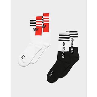 adidas Originals Colorblock Crew Socks 2 Pairs