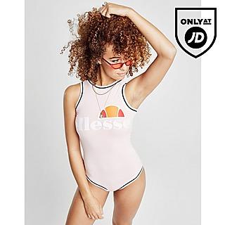 Ellesse Tipped Logo Bodysuit