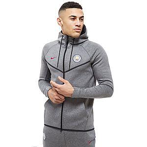 230368efef6 Nike Manchester City FC Tech Fleece Hoodie Heren ...