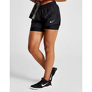 32dfac8c420 ... Nike Running 10k 2 in 1 Shorts Dames