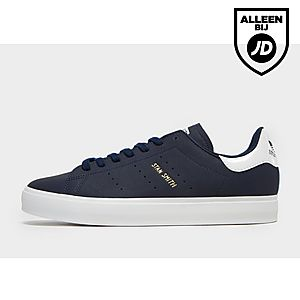 adidas stan smith wit blauw heren