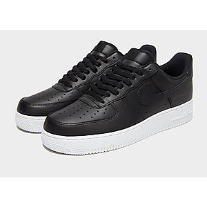 nike air force 1 heren wit zwart