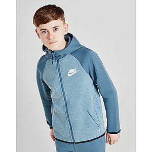 e111897bce7 Nike Tech Essential Colour Block Full Zip Hoodie Junior ...