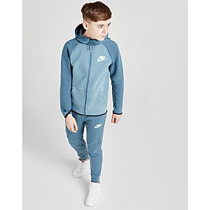 db2fc9b867e ... Nike Tech Essential Colour Block Full Zip Hoodie Junior