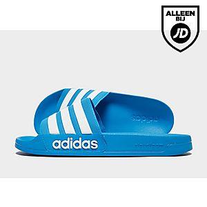 3ecc39c9bbc adidas Originals Adilette Cloudfoam Slides Heren ...