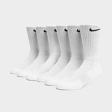 Nike 6 Pack Cushion Crew Socks Heren