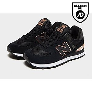 new balance 574 zwart dames