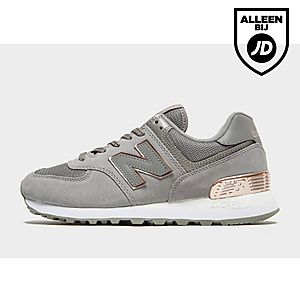 new balance dames sneakers grijs
