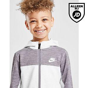ab697d5b83a ... Nike Advance Full Zip Colour Block Tracksuit Kinderen