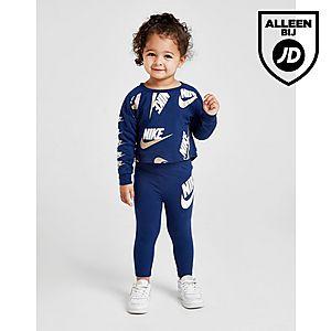 1609f1fae0e Nike Girls' Shine Print Crew/Leggings Set Baby's ...