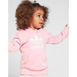 ae015b81240 ... adidas Originals Girls' Adicolour Overhead Trainingspak Baby's