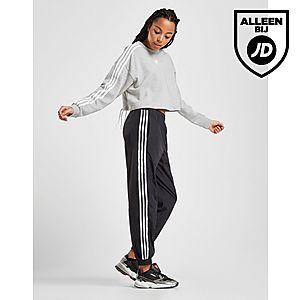 bff096ed82d ... adidas Originals 3-Stripes Crop Crew Sweatshirt Dames