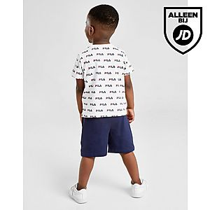 4cc92d1c5e94dc ... Fila All Over Print T-Shirt/Shorts Set Baby's