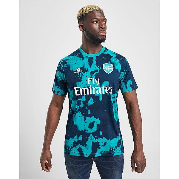 adidas Arsenal FC Pre-Match Short Sleeve Shirt Heren