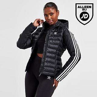 adidas Originals 3-Stripes Slim Gewatteerde Jas Dames