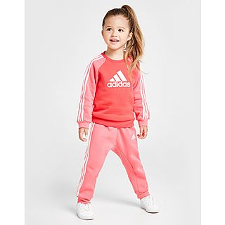 Adidas Originals Girls' Superstar Trainingspak Baby's Roze Kind