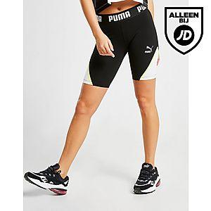 a8add65c78a PUMA Colour Block Cycle Shorts Dames PUMA Colour Block Cycle Shorts Dames