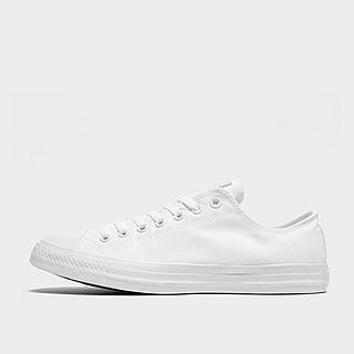 Mannen Converse All White Footwear   JD Sports