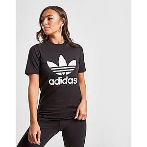 6bc98ebb642 ... adidas Originals Trefoil T-Shirt Dames