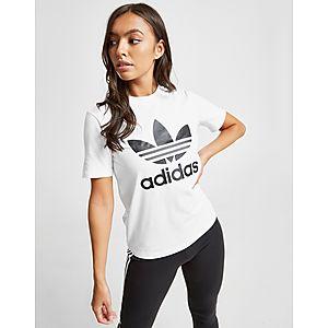 8ddf28a8bcc adidas Originals Trefoil T-Shirt Dames ...