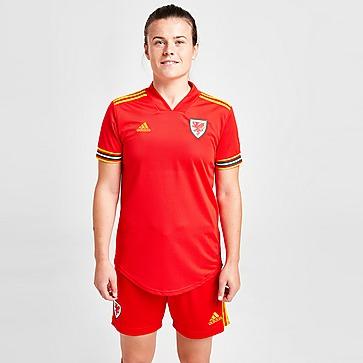 adidas Wales 2020 Home Shirt Dames