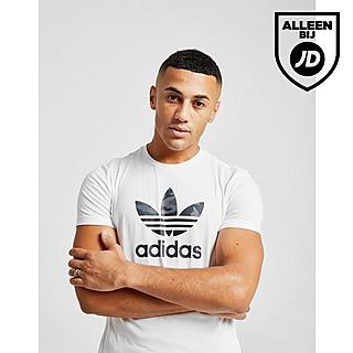 Sale | Mannen - Wit Adidas Originals T-shirts & Tanktops ...