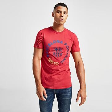 Official Team FC Barcelona Circle T-shirt Heren